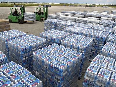 clear plastic bottle lot