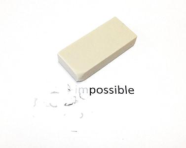 white pencil eraser