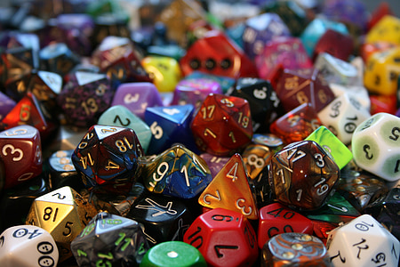assorted dice lot