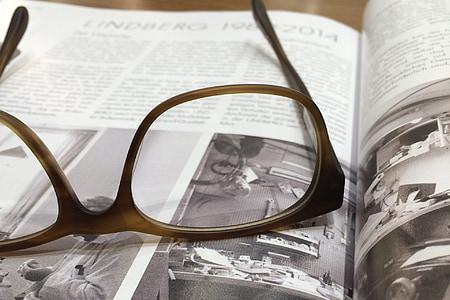 eyeglasses with brown tortoiseshell frames