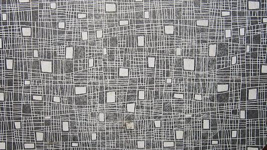 lines, four corner, white, grey, pattern, vintage