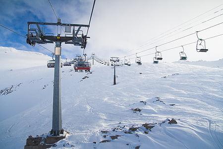 ski lift during daytime