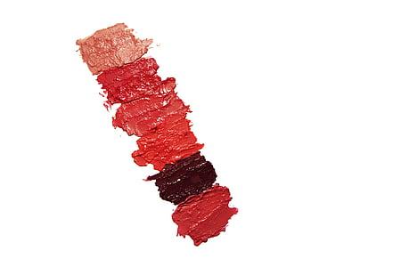 different shape of lipsticks
