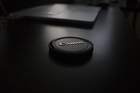Canon camera cap