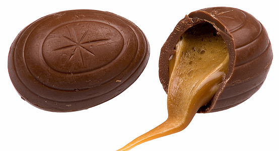 chocolate filled with caramel