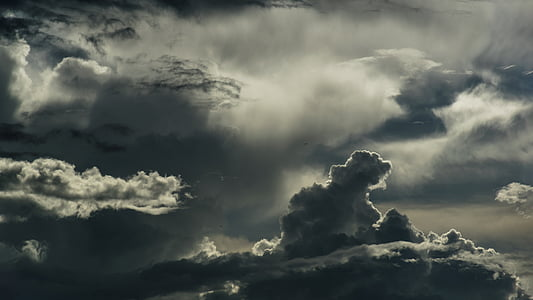photography of cumulus clouds