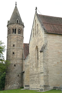 brown brick wall church under clear sky