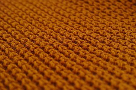 brown knit apparel