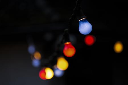 bulb string light turn on
