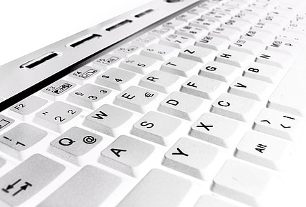 closeup photography of keyboard keys