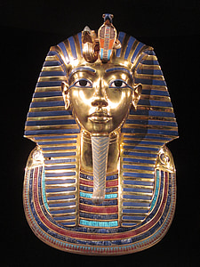 Tutankhamen head bust