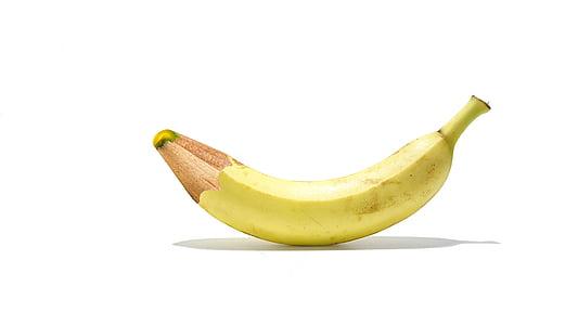 ripe banana fruit