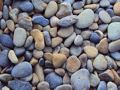 gray stone fragment lot