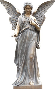 female angel figurine