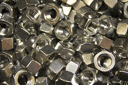 stainless steel nut lot