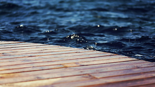close-up photo of dock