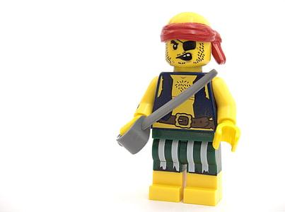 Lego pirate toy