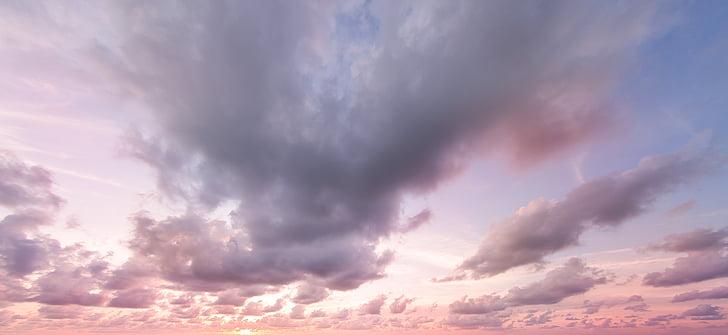 gray cloud sky