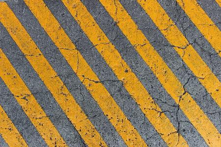 floor, lines, street, concrete, path, perspective