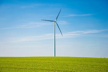 white windmill in green grass field