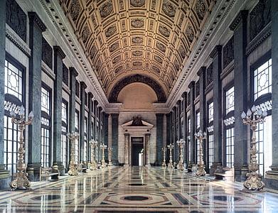 architectural interior photo of concrete building