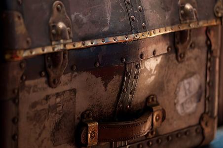 brown treasure chest