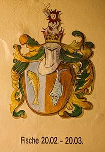 shied and hat emblem illustration