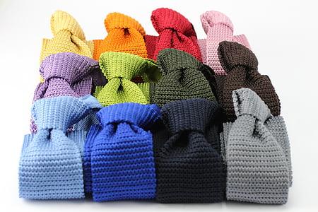 men's assorted knitted neckties