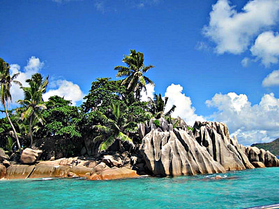 landscape of island