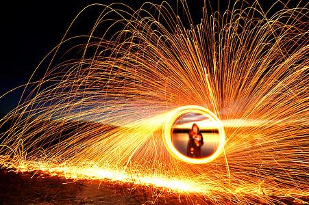 steel wool photohtaphy