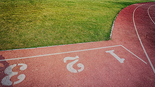 red track field