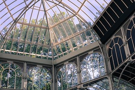 closeup photo of beige dome frame