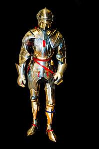 gold gladiator armor