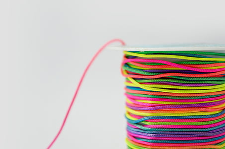 multicolored rope