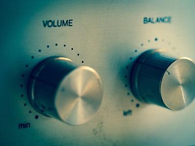 volume and balance controller