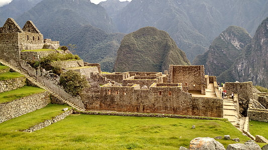 Machu Picchu, Peru during daytime
