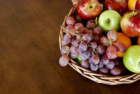 assorted fruits of basket