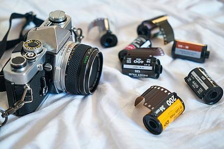 camera beside films