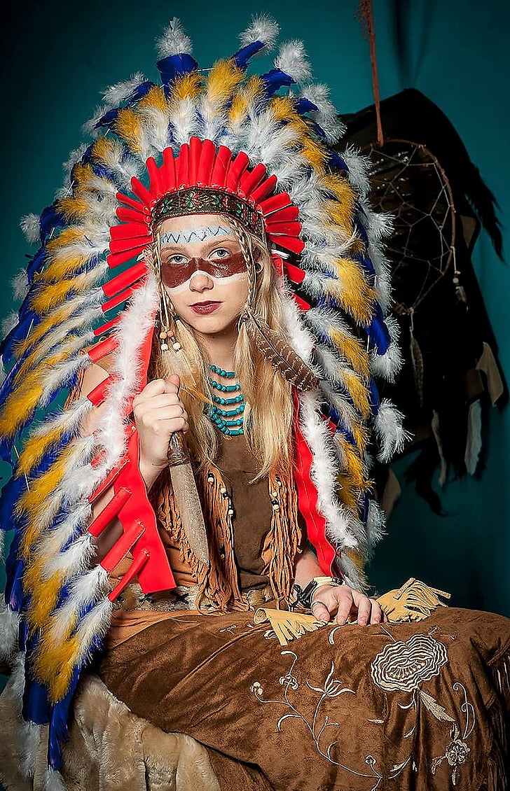 Royalty Free Photo Native American Woman Costume Pickpik