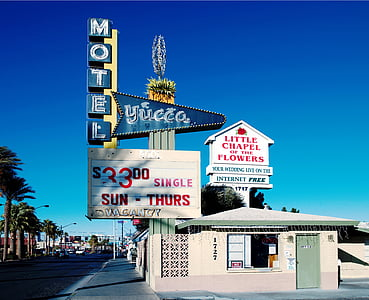 motel, america, home, united states, carol m highsmith, las vegas