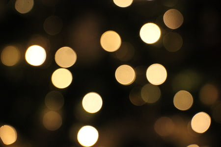 bokeh lights photograph
