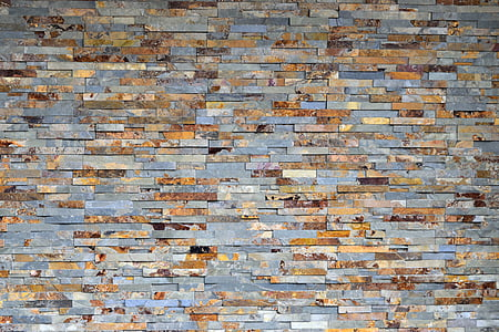 gray and brown mosaic wallpaper