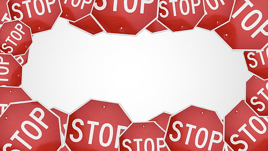 stop signage wallpaper