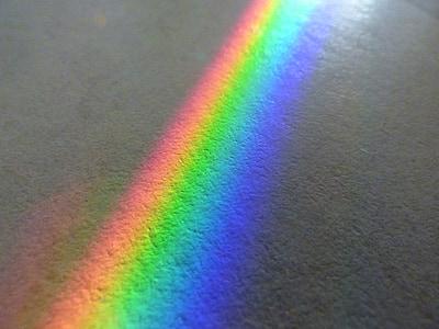 rainbow, color spectrum, solar, mirror, mirroring, beautifully