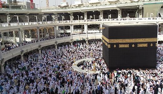 people inside Al Masjid Al Haram, Saudi Arabia