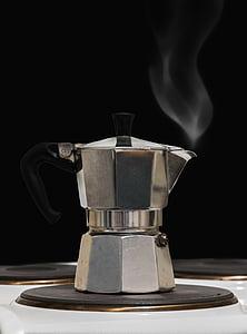 hot silver Turkish kettle