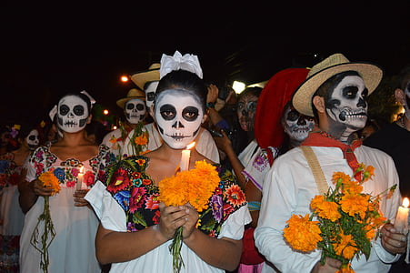 human portray Way of the Dead Coco scene