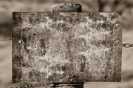 square gray wooden board