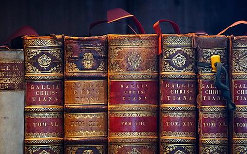 pile of hardbound book