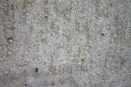gray concrete sand